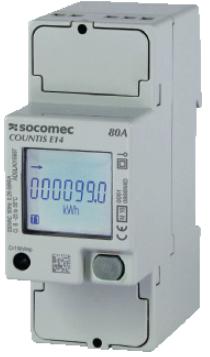 1-Fase kWh Meter 80A