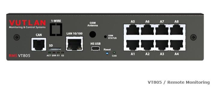 VT805 Front