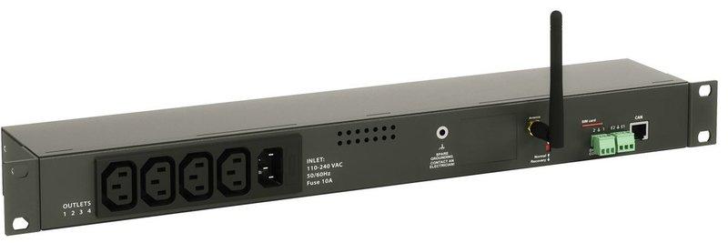 VT604 IP geschakelde 230V voeding distributie unit